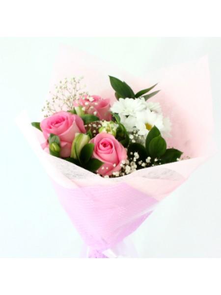 Цветы девушке