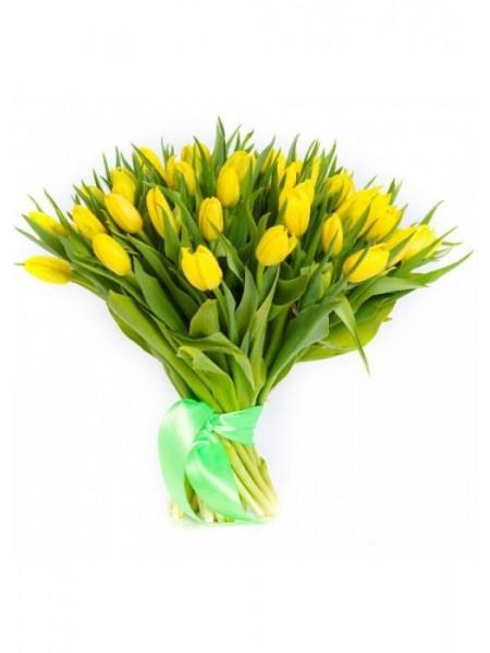 Букет из 31 тюльпана