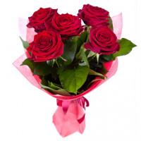 Букет Алые розы
