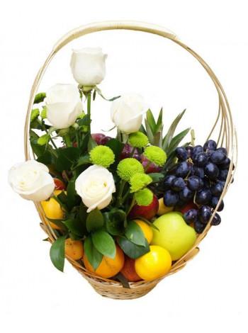 Цветочно-фруктовый микс